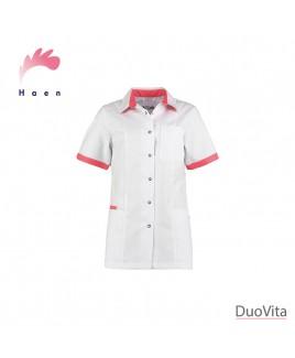 Haen Tunique Fijke White/Oriënt Pink