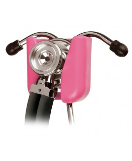 Hip Clip Stéthoscope Support Rose