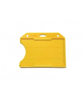 Porte-Badge Jaune