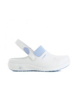 Oxypas Doria Blanc/Bleu
