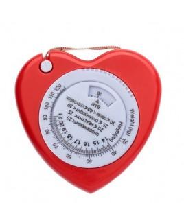 Cœur Ruban de mesure IMC