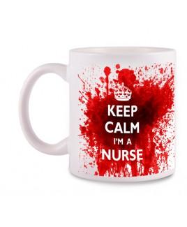 Tasse Nurse avec Nom Imprimé
