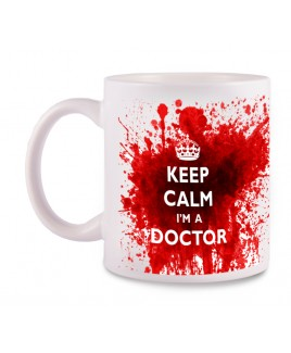 Tasse Doctor avec Nom Imprimé