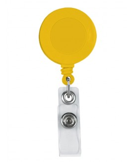 Porte Badge Jaune