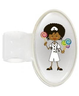 Badge Stéthoscope Candy Nurse