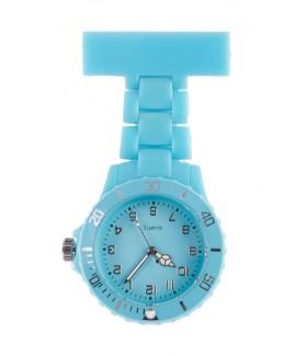 Montre Infirmière Néon Fluo Turquoise