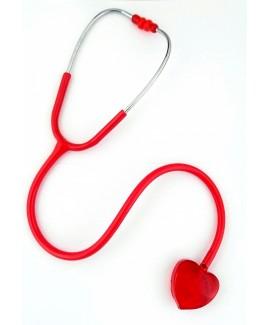 Stéthoscope Clear Sound - Cœur Rouge